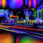 A Parallel Las Vegas Art Print