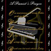 A Pianists Prayer_1 Art Print by Joe Greenidge