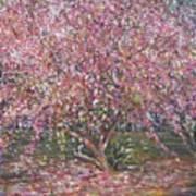 A Pink Tree Art Print