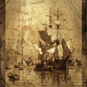 A Pirate Looks At Forty Schooner Wharf Art Print