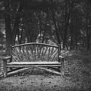 A Place To Sit 6 Art Print