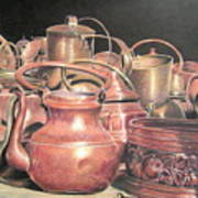 A Plethora Of Pots Art Print