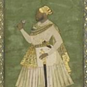 A Portrait Of Farhad Khan Art Print