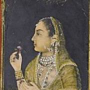 A Portrait Of Jahanara Begum Art Print
