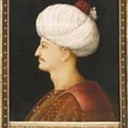 A Portrait Of Suleyman Art Print