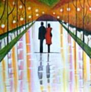 A Rainy Dayii Art Print