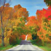 A Road Less Traveled Art Print