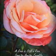 A Rose Is Still A Rose Art Print