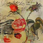A Rose Story Art Print