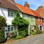 A Row Of Cottages Art Print
