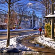 A Sandpoint Winter Art Print