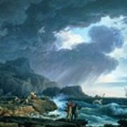 A Seastorm Art Print