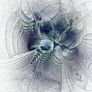 A Secret Sky - Fractal Art Art Print