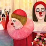 A Short Story For Pinka Art Print