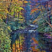 A Smoky Mountain Autumn Art Print