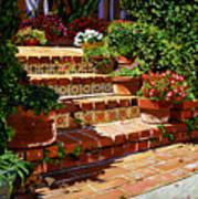 A Spanish Garden Art Print