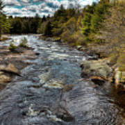 A Spring Day At Little Woodhull Creek Art Print