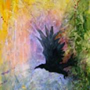 A Stately Raven Art Print