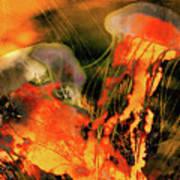A Sting Like Fire Art Print