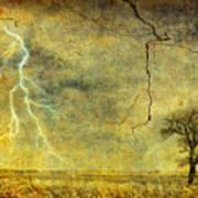 A Stormy Spring Art Print