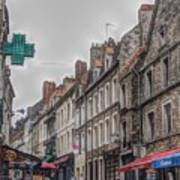 A Street In Boulogne Art Print