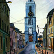 A Street In Cork. Art Print