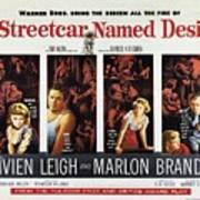 A Streetcar Named Desire Wide Poster Art Print