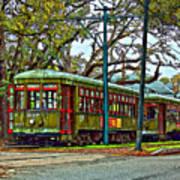 A Streetcar Named St. Charles Art Print