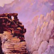 A Study In Geology Art Print