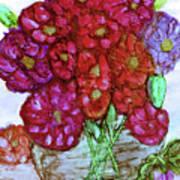 A Summer Bouquet Art Print