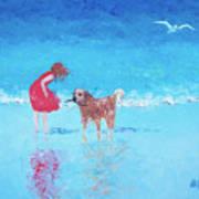 A Summer Breeze Art Print