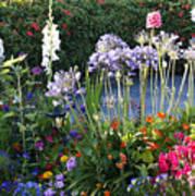 A Summer Garden Art Print