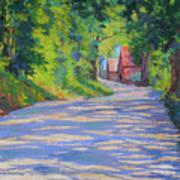 A Summer Road Art Print