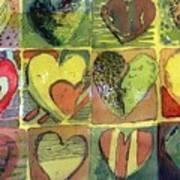 A Sunny Valentine Art Print