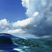 A Surfer's View Art Print