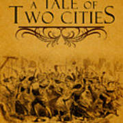A Tale Of Two Cities Book Cover Movie Poster Art 1 Art Print