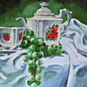 A Time For Tea Art Print