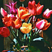 A Time For Tulips Art Print