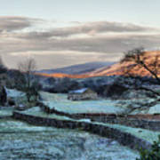 A Touch Of Frost In Swaledale Art Print