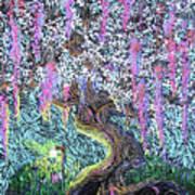 A Tree Of Many Colors Art Print