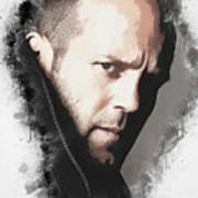 A Tribute To Jason Statham Art Print