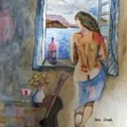 A Tribute To Salvador Dali Art Print