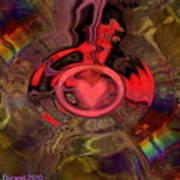 A True Kings Heart Art Print
