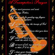 A Trumpeters Prayer_1 Art Print by Joe Greenidge
