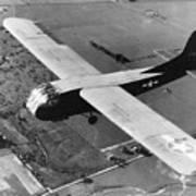 A U.s. Army Air Force Waco Cg-4a Glider Art Print by Stocktrek Images