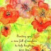 A Vaseful Of Sunshine Art Print