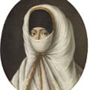 A Veiled Lady Art Print