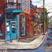 A Vendre Petits Formats L'art De Montreal Originals For Sale Wilensky's Diner Best Montreal Scenes Art Print