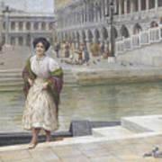 A Venetian Beauty Art Print