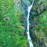 A Very Tall Waterfall Art Print